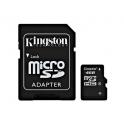 TARJETA DE MEMORIA KINGSTON TECHNOLOGY 4GB MICROSDHC