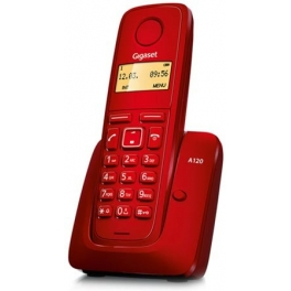 TELÉFONO SIEMENS GIGASET A-120 ROJO