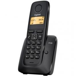 TELÉFONO SIEMENS GIGASET A-120 NEGRO
